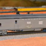 Model of ATSF test car #5015