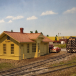 Model of Climax depot