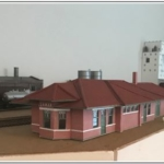 Model of Lamar CO depot by Denny Krausman