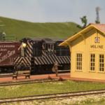 Model of Moline depot