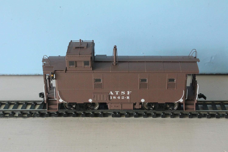 ATSF Caboose # 1842 (model)