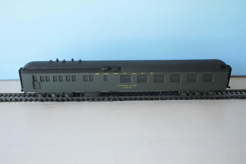 ATSF Dining Car #1467 (model)