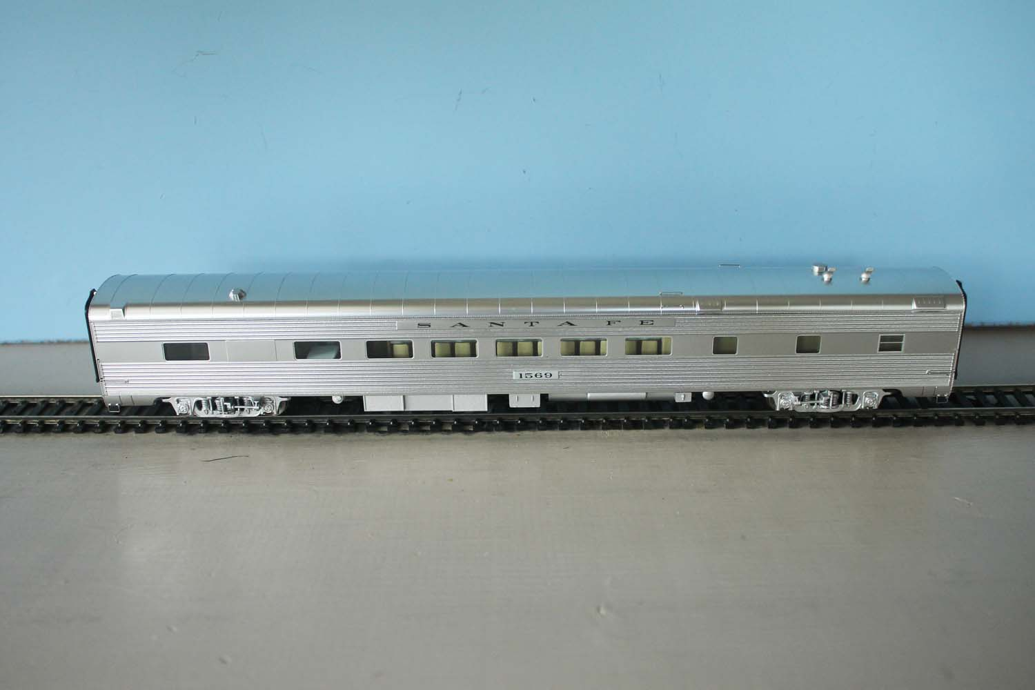 ATSF Lunch Counter Diner-Dorm #1569 (model)