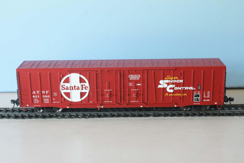 ATSF Bx-166 #621380 (model)