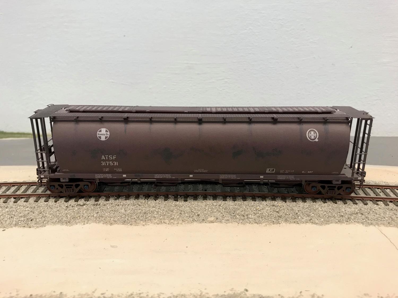 ATSF Ga-907 #317531 grain car (model)