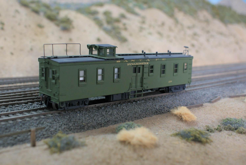 ATSF Dynamometer Car #29 (model)