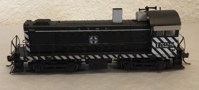 ATSF Alco S4 #1528 (model)