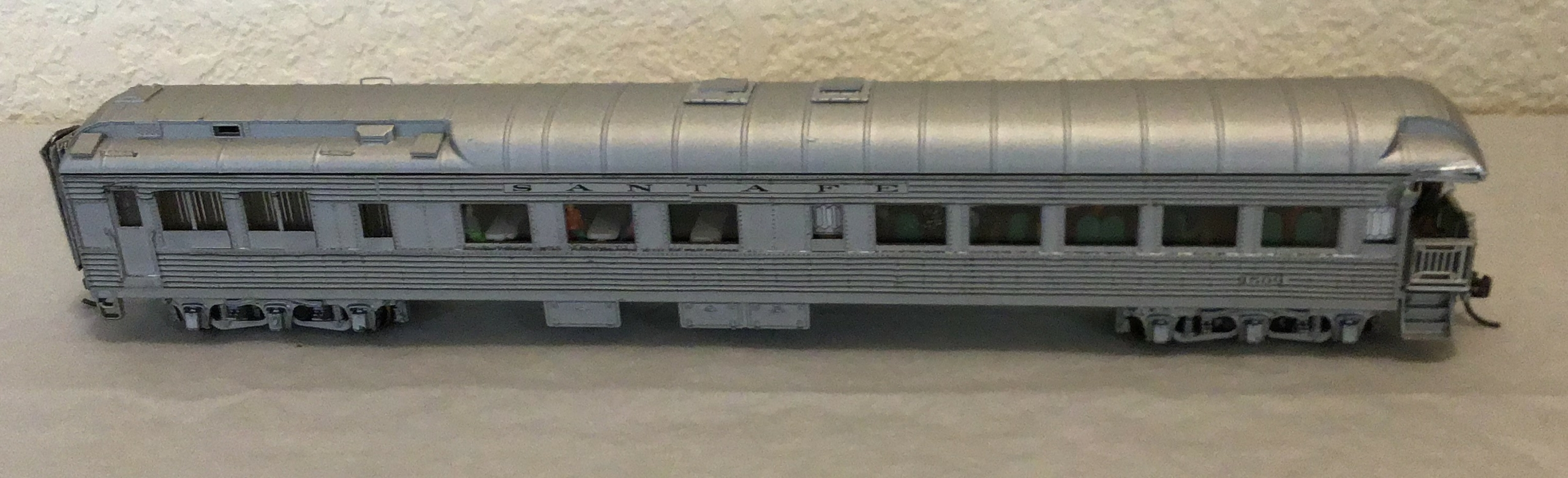 ATSF Cafe Observation #1509 (model)