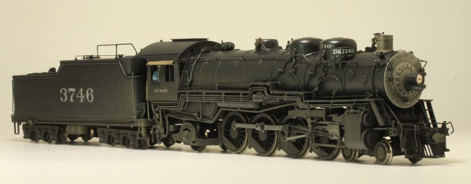 ATSF Mountain #3746 (model)