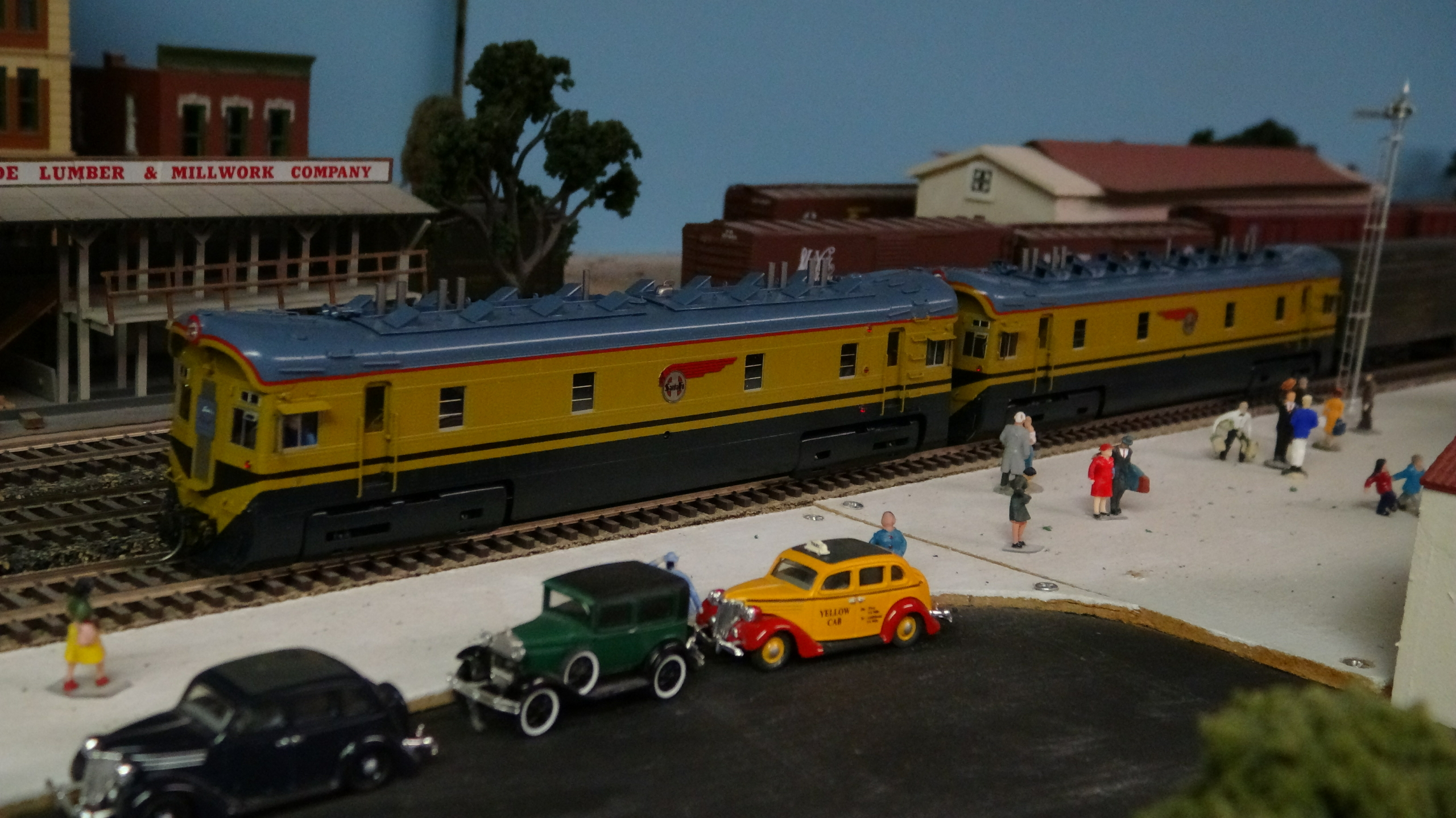 ATSF Box Cabs #1 and #1A (Amos and Andy) (model)