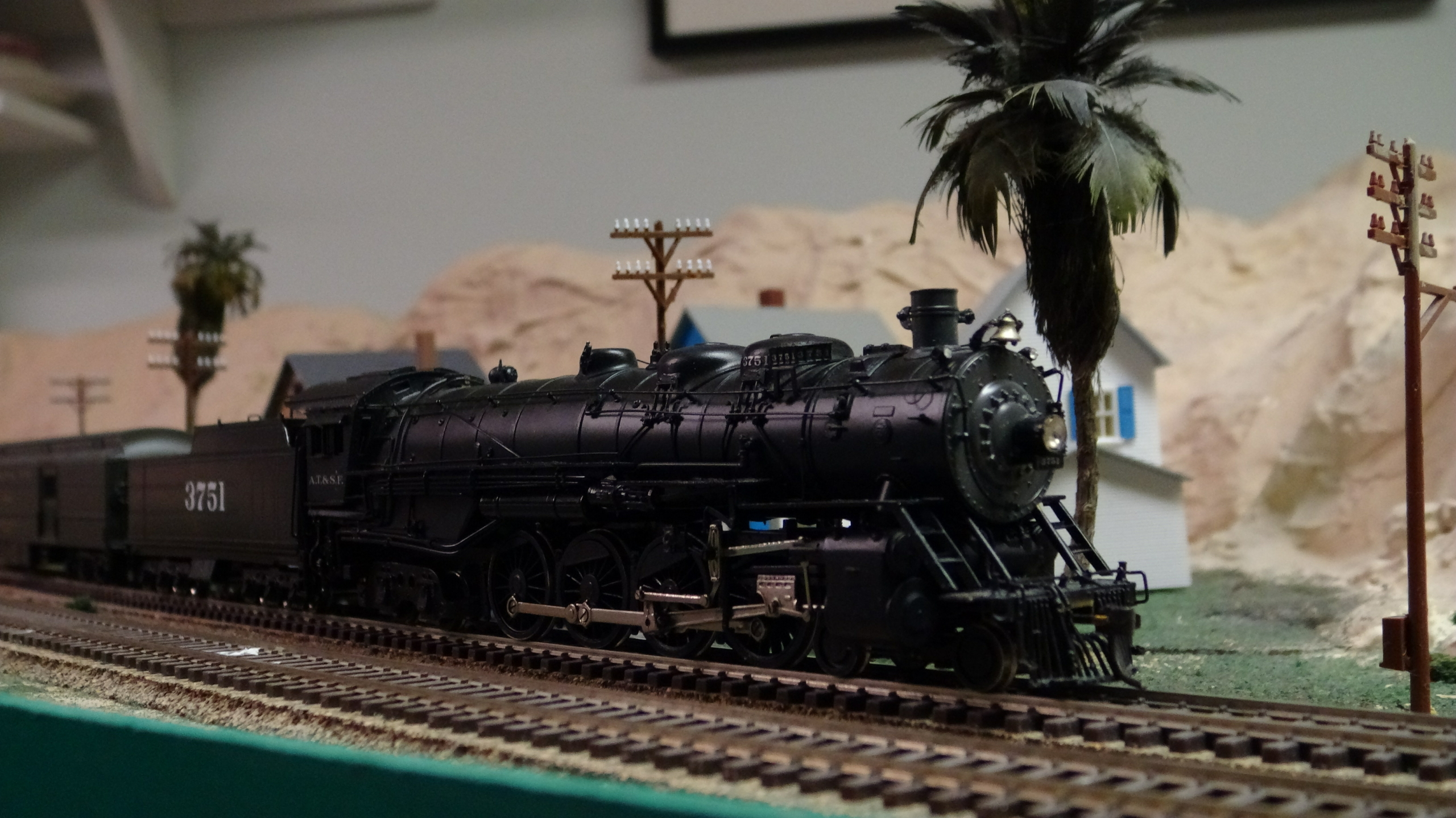 ATSF Heavy Mountain #3751 (model)