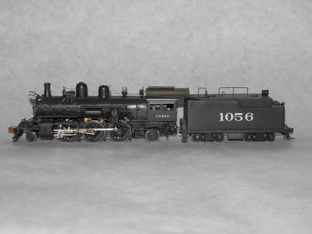 ATSF 2-6-2 #1056 (model)