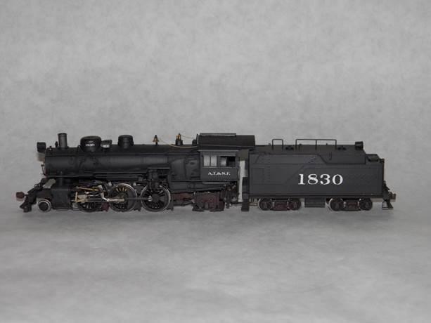 ATSF 2-6-2 #1830 (model)