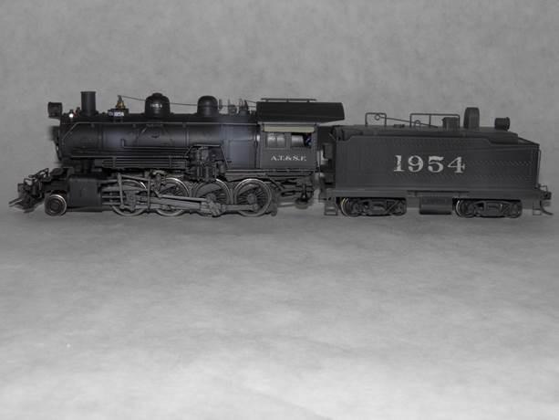 ATSF 2-8-0 #1954 (model)