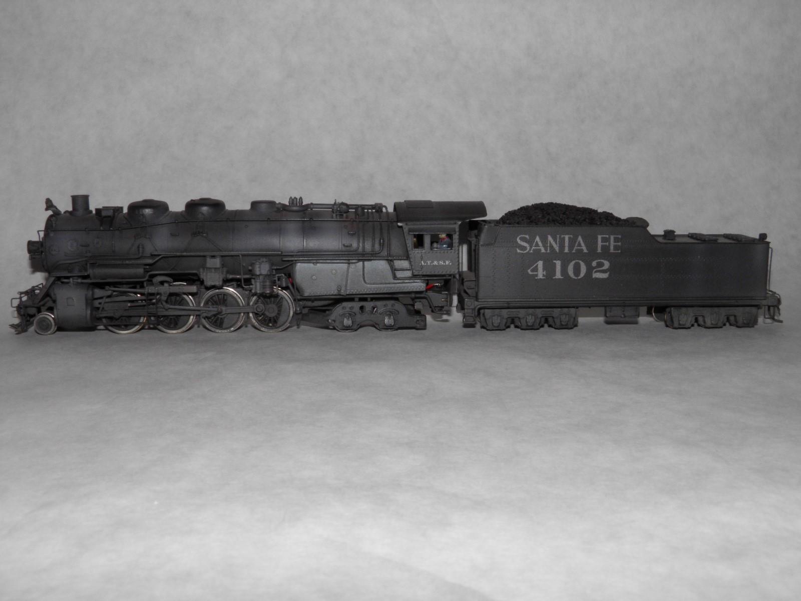 ATSF Berkshire #4102 (model)