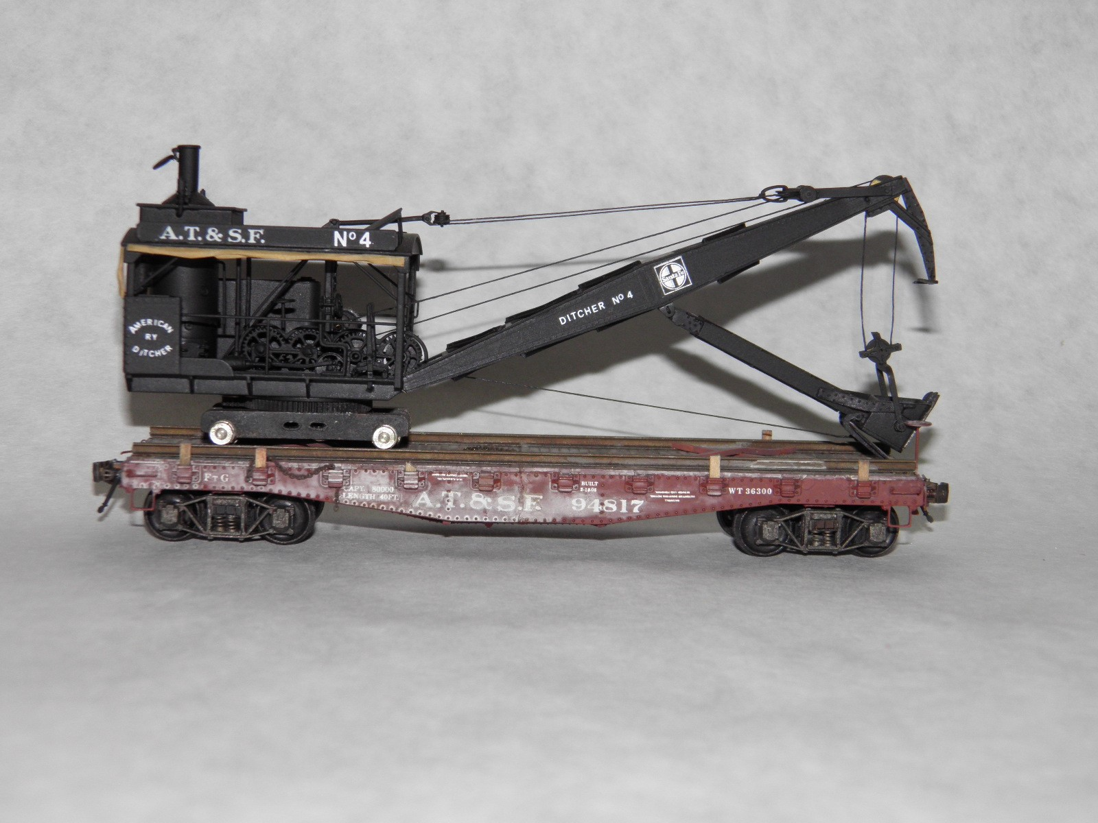 ATSF Ditcher #94817 (model)
