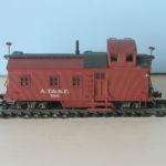 ATSF Caboose #788 (model)